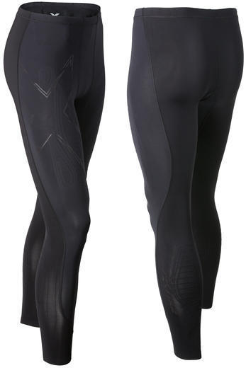 2XU MCS Compression Run Tights Color: Black/Gold