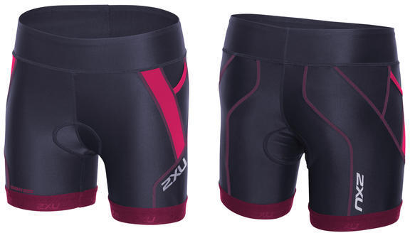 2XU Perform Tri 4.5-inch Short - Women's Color: Barberry/Carbon Purple