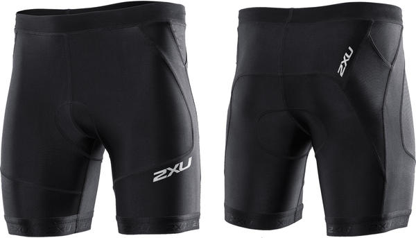 2XU Perform Tri Shorts (7-inch) Color: Black/Black