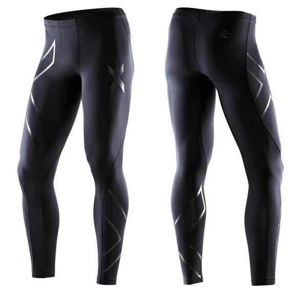 2XU Recovery Compression Tights Color: Black/Black