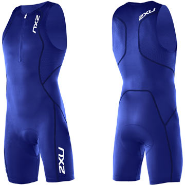 2XU Comp Trisuit Color: Royal Blue/Royal Blue