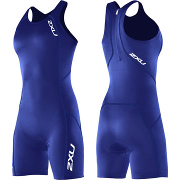 2XU Women's Comp Trisuit Color: Royal Blue/Royal Blue