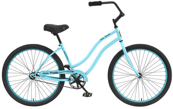 3G Bikes Isla Vista Color: Baby Blue w/Baby Blue Rims