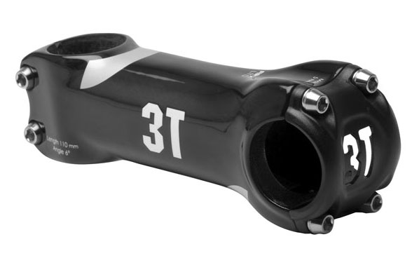 3T ARX LTD Stem (+/- 6-degrees) Color: Black