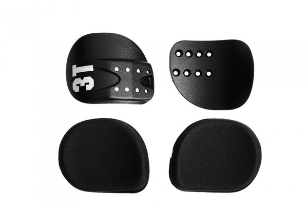 3T Comfort Cradles and Pads Kit - Alloy Color: Black