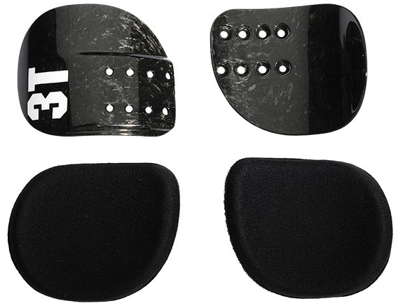 3T Comfort Cradles and Pads Kit - Carbon Color: Black