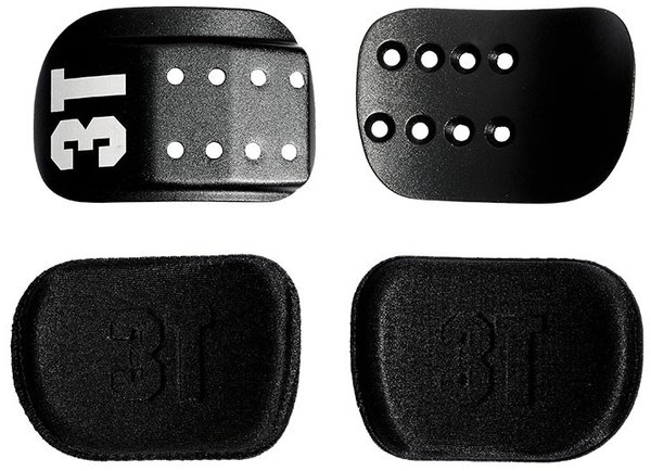 3T Compact Cradles and Pads Kit - Alloy Color: Black