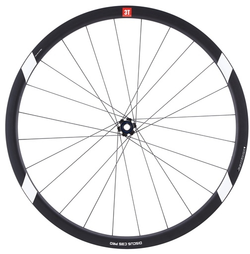 3T Discus Pro C35 700c Wheelset Color: Black/White