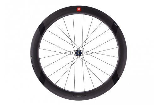 3T Discus C60 LTD Stealth 700c Front Color: Black