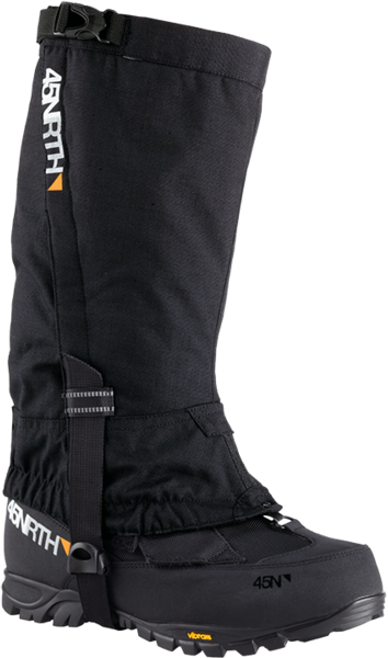 45NRTH Bergraven Gaiters Color: Black