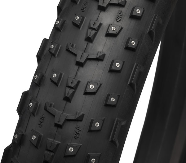 45NRTH Dillinger 27.5 Studded Fatbike Tubeless Tire Model: 252 Concave Carbide Studs/120 TPI