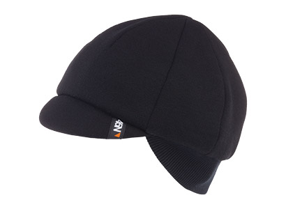 45NRTH Dozer Merino Cycling Cap Color: Black