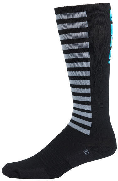 45NRTH Knee High Logo Sock Color: Black