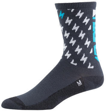 45NRTH Light Logo Sock Color: Gray