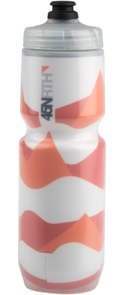 45NRTH Polar Flare Insulated Water Bottle Color: Orange/Black/Grey