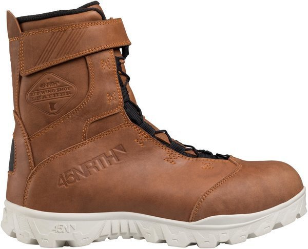 45NRTH Red Wing Limited Edition Wolvhammer Color: Brown Leather