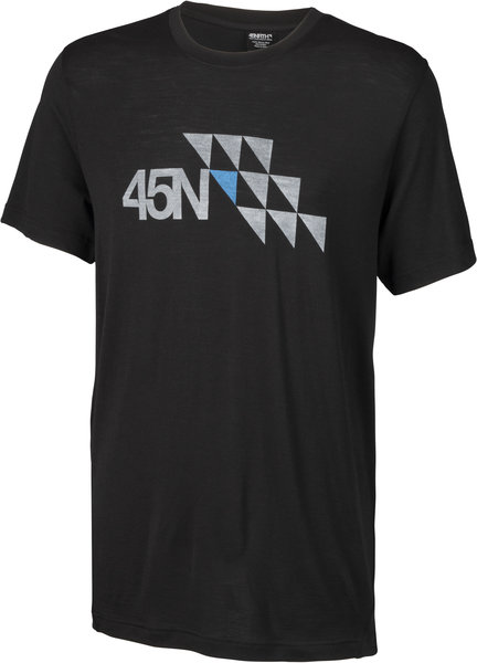 45NRTH Limited Edition Merino T-Shirt Color: Black