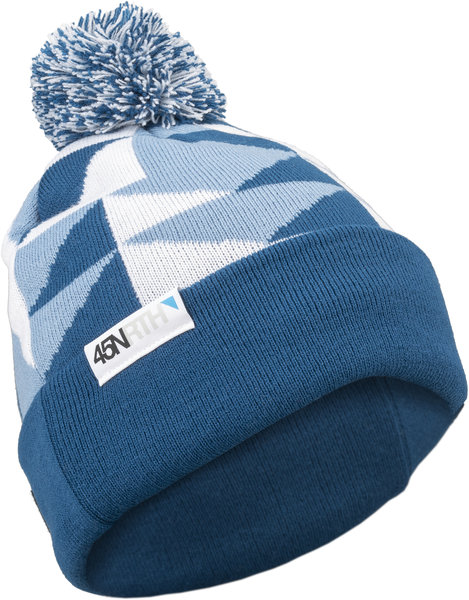 45NRTH Pom Hat Color: Blue/White