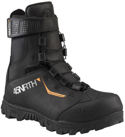 45NRTH Wolvhammer MTN 2-Bolt Cycling Boot Color: Black