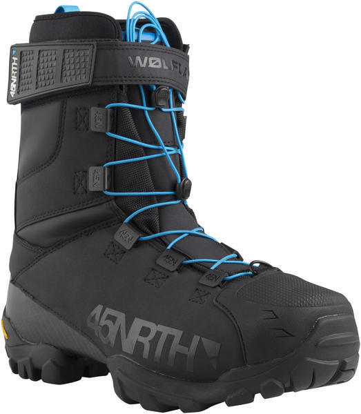 45NRTH Wølfgar Winter Cycling Boots Color: Black