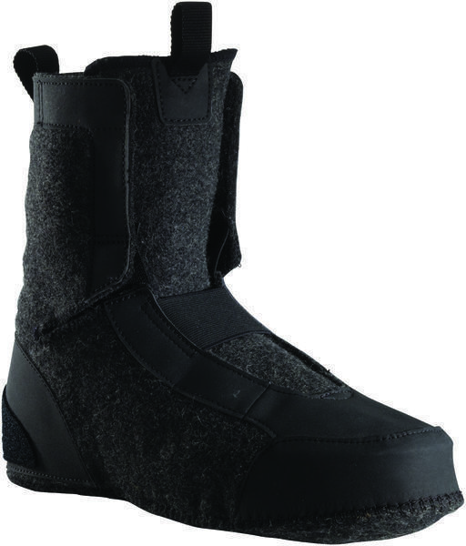 45NRTH Wølfgar Wool Felt Inner Boot Color: Black