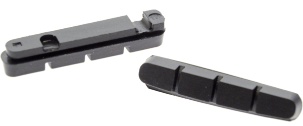 49°N Cartridge Style Brake Pad Inserts Color: Black