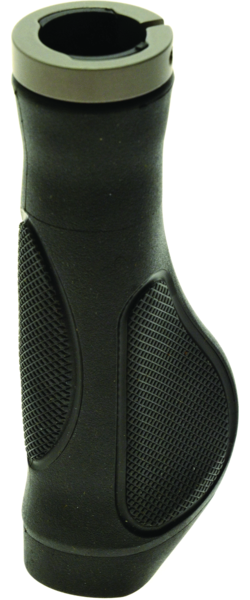 49°N DLX Lock-Down Ergonomic Comfort Grips Color: Black