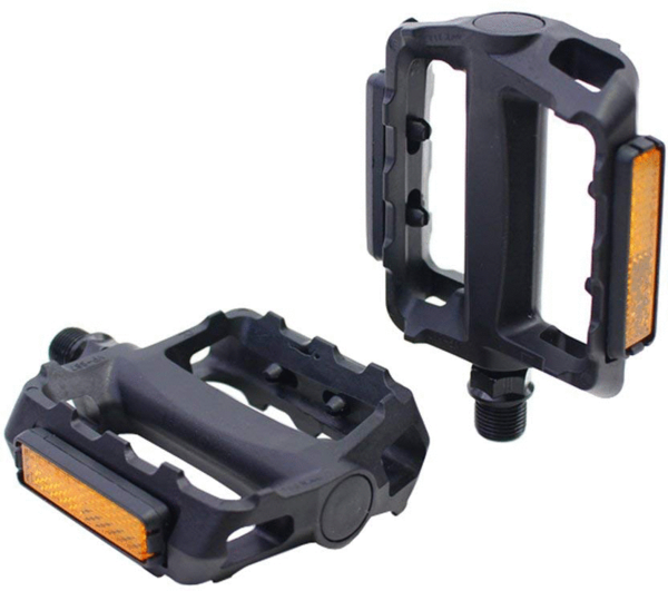 49°N MTB Pedals - Resin Color: Black