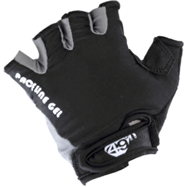 49°N Paceline Gel Women's Gloves Color: Black/Charcoal
