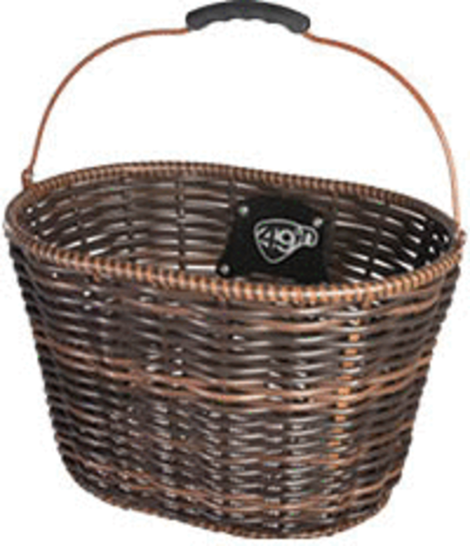 49°N St. Lawrence Wicker DLX QR Basket Color: Brown