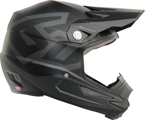 6D Helmets ATR-1Y Macro Youth Helmet Color: Matte Black