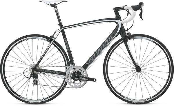 Specialized Tarmac Sport Mid Compact Color: Carbon/Charcoal/White