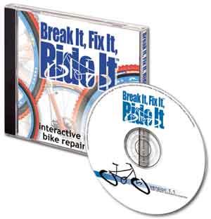 Break It, Fix It, Ride It Interactive Mountain-Bike-Repair CD