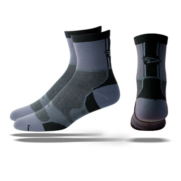 DeFeet Levitator Lite Color: Black/Grey