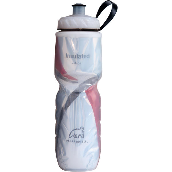 Polar Bottle Insulated Bottle (Pattern Series) Color: Red Pattern