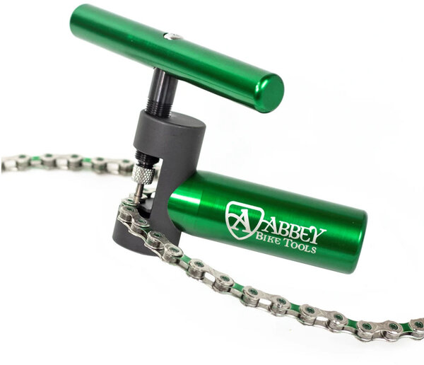 Abbey Bike Tools Decade Chain Tool Color: Green/Silver