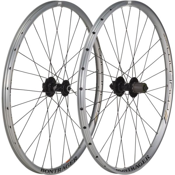 Bontrager Rhythm Comp TLR Wheelset Color: Silver Anodized
