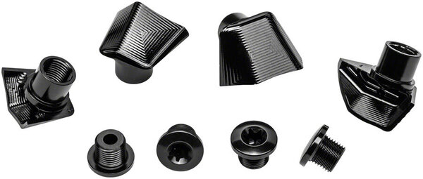 absoluteBLACK Crank Bolts and Covers for Dura-Ace 9100 Cranks Color: Black