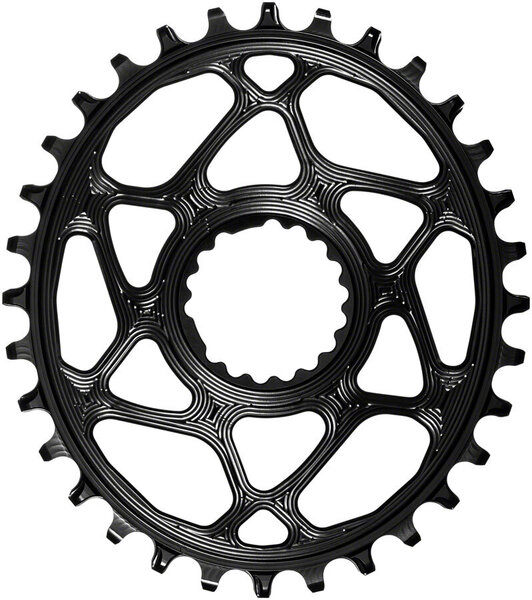 absoluteBLACK Oval Direct Mount 1x Chainring for Cannondale Color: Black