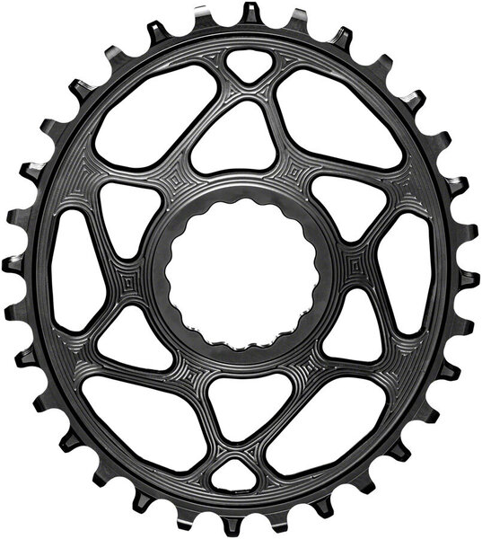 absoluteBLACK Oval Direct Mount Chainring for CINCH and Hyperglide+