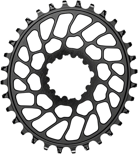 absoluteBLACK Oval Direct Mount Chainring for SRAM 3-Bolt 0mm Offset Color: Black