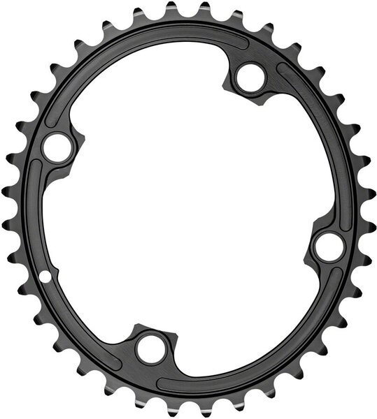 absoluteBLACK Premium Oval 110 BCD Inner Chainring for FSA ABS Color: Black