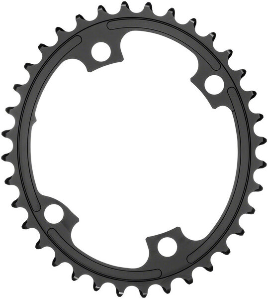 absoluteBLACK Premium Oval 110 BCD Road Inner Chainring for Shimano Dura-Ace 9100 Color: Black