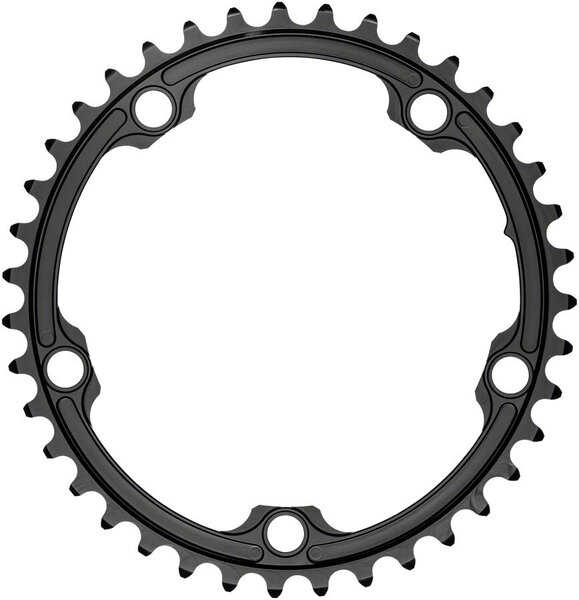 absoluteBLACK Premium Oval 130 BCD Road Inner Chainring Color: Black