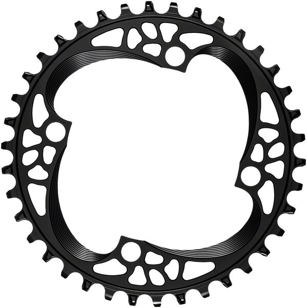 absoluteBLACK Round 104 BCD Chainring Color: Black