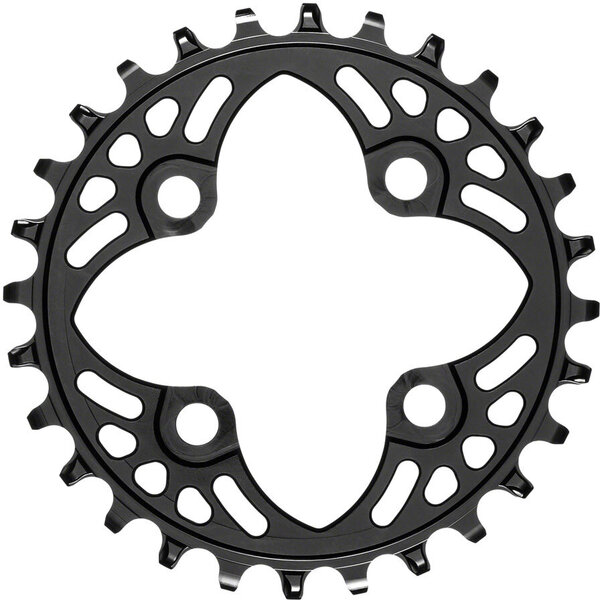 absoluteBLACK Round 64 BCD Chainring Color: Black