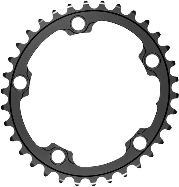 absoluteBLACK Silver Series Oval 110 BCD 5-Bolt Inner Chainring