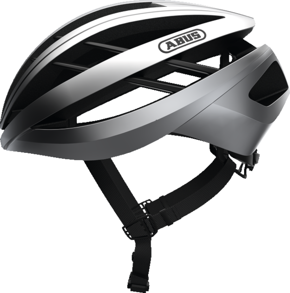 ABUS Aventor Road Helmet Color: Gleam Silver