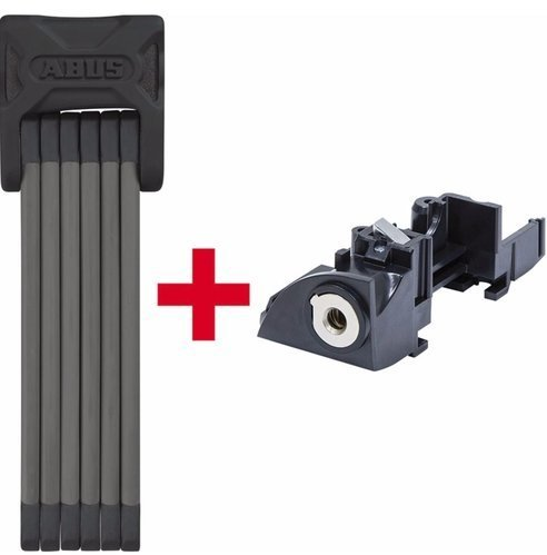 ABUS Bordo 6015 + Bosch Battery Lock Color: Black