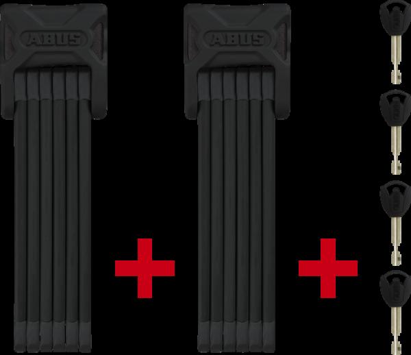 ABUS Bordo 6000/90 Twinset Folding Lock ST